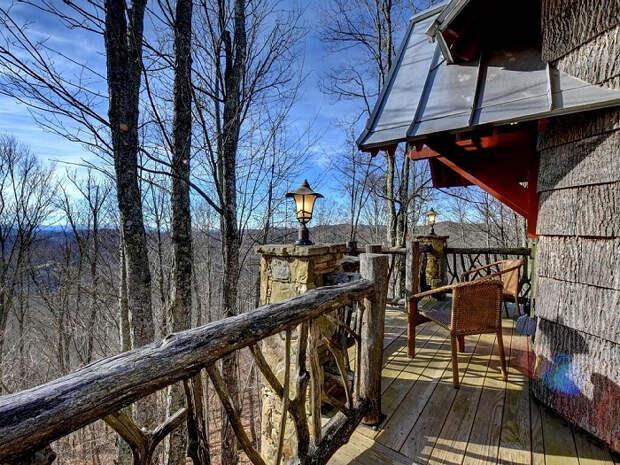 красивый лесной домик 9 (700x525, 599Kb)