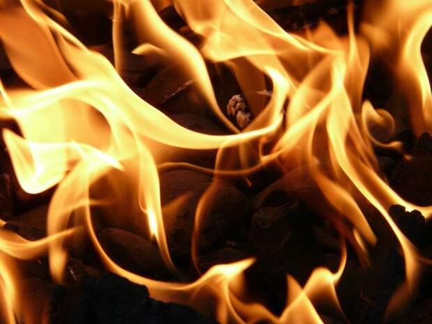 Из пожара в центре Рязани эвакуировали 12 человек