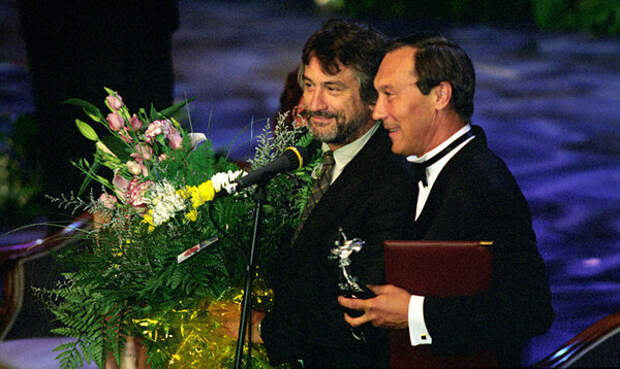 Фотография с «Московского международного кинофестиваля» (1997 год)