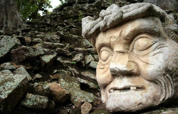 Загадки каменных голов ольмеков