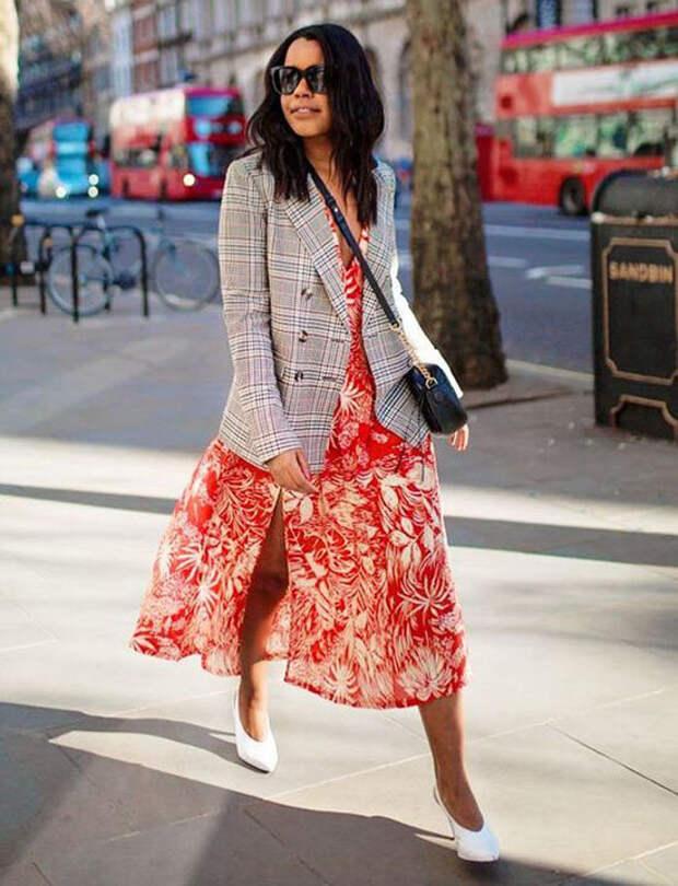 Пиджак + юбка: как носить весной, на работу, и выглядеть элегантно