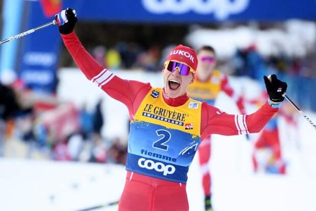 Александр Большунов взял верх над Клебо и в финишной разборке. Одно тревожит: не слишком ли он уже завелся?