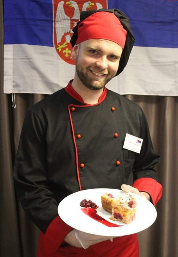 Печень жареная по-сербски от Николы Радишича