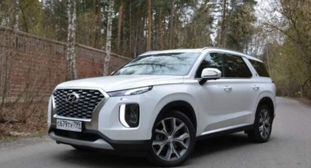 Российские автолюбители по достоинству оценили кроссовер Hyundai Palisade