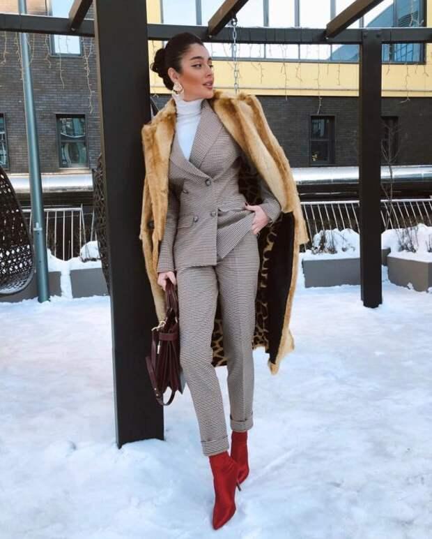 Что надеть в офис зимой 2020-2021: модные идеи