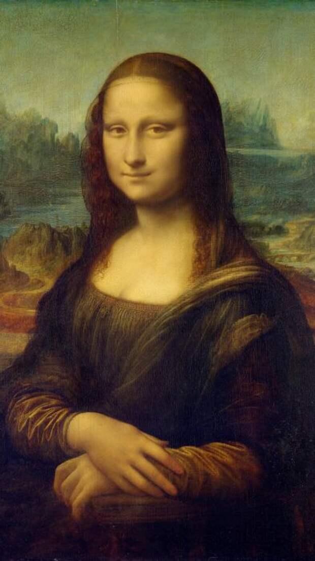 Мона Лиза. \ Фото: sarvgyan.com.