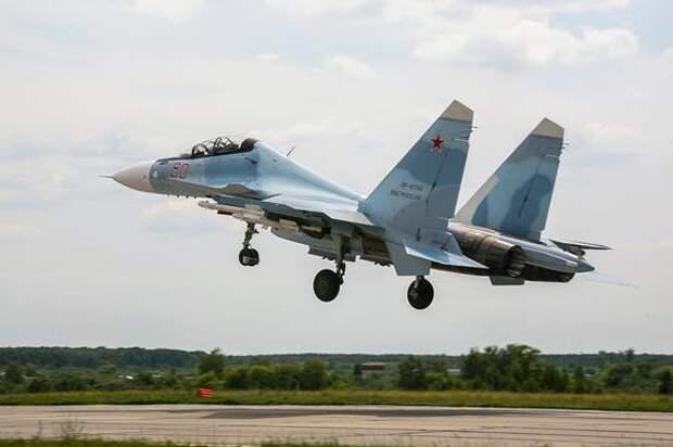 Sohu: один российский Су-30 заставил «опозориться» три французских самолета над Черным морем