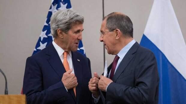 Лавров и Керри провели незапланированные переговоры в Индии