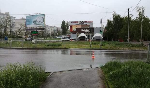 Пожилой водитель сбил пешехода вСтаврополе