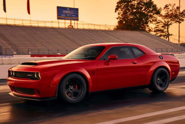 При Никсоне такого не было: Dodge Challenger SRT Demon представлен официально