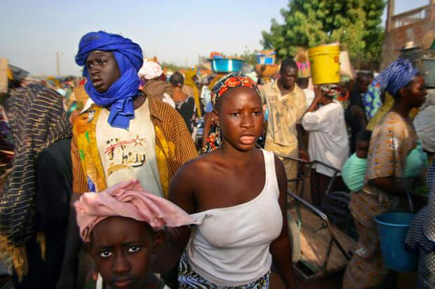 Рынок Сегу, Мали красота, путешествия, фото