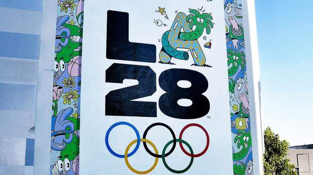 Оргкомитет ОИ-2028 в Лос-Анджелесе презентовал логотип. Его создавали звезды, среди них Билли Айлиш и Риз Уизерспун