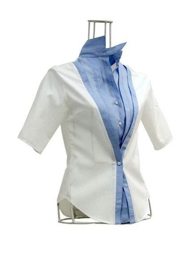 Блузки с интересными деталями (подборка)