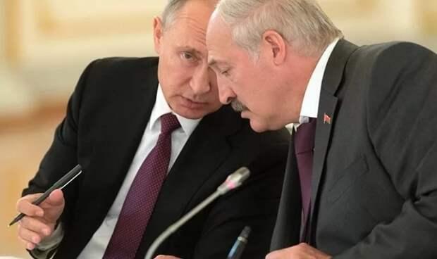 Путин и Лукашенко обсудили сотрудничество в Союзном государстве