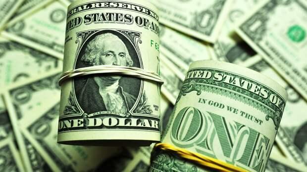 Банкноты номиналом 1 доллар США - РИА Новости, 1920, 07.09.2020
