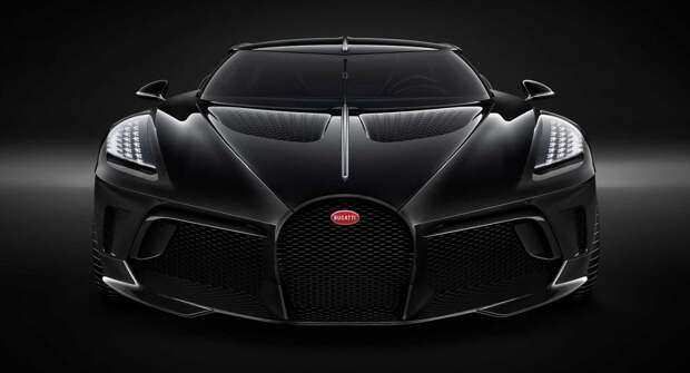 Bugatti представит 31 мая 2021 года модель La Voiture Noire