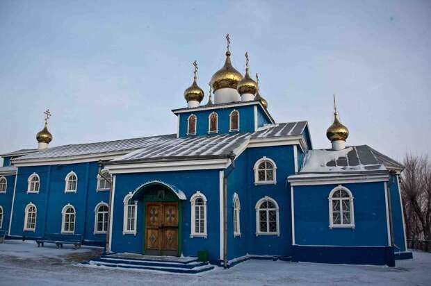Православные храмы, построенные при Cоветской власти