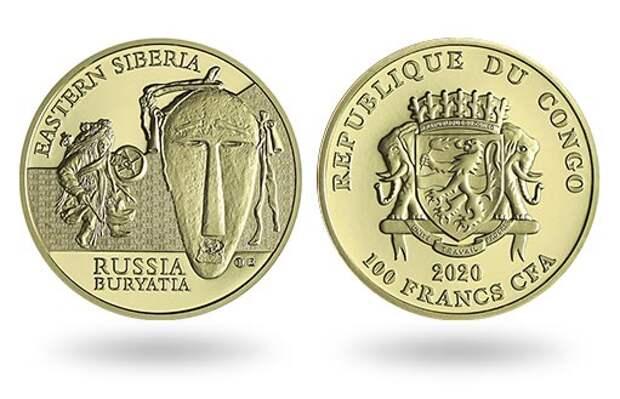 «Ритуальные маски мира» пополнились двумя золотыми монетами