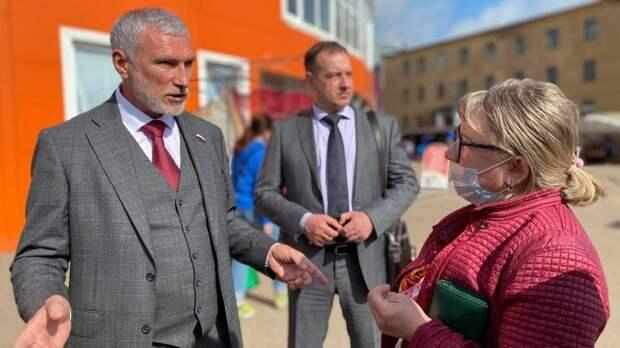 Председателю партии «Родина» Журавлеву пожаловались на загрязнение реки Ловать