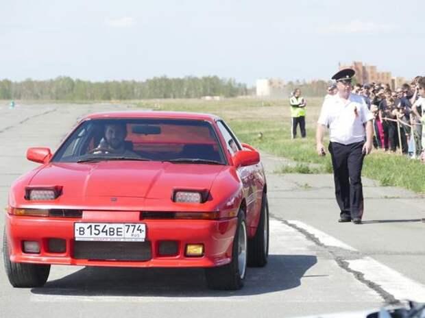 Автоспортсмены Южного Урала показали мастерство скоростного вождения