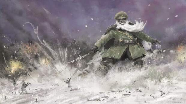 """""""Генерал Мороз"""" в чистую разгромил и рыночных шакалов"""