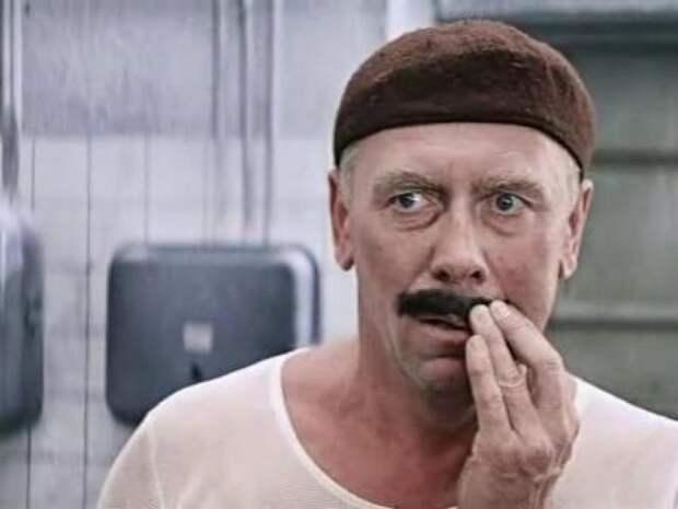 Сегодня уроженцу Смоленщины Анатолию Папанову исполнилось бы 94 года Ну заяц...., Папанов, актер, кино