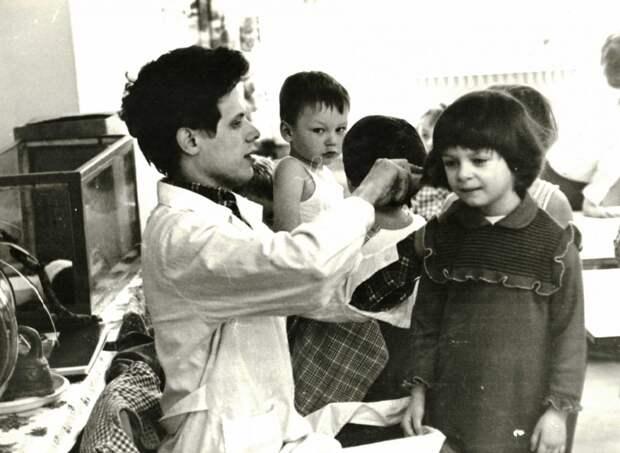 Житель Марьиной рощи стал  одним из первых в СССР мужчин-воспитателей в детсаду