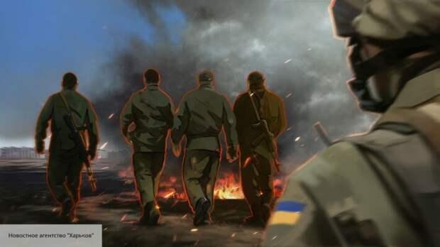 В Киеве заявили, что РФ «готовит» военный поход, чтобы вернуть ЛДНР все территории
