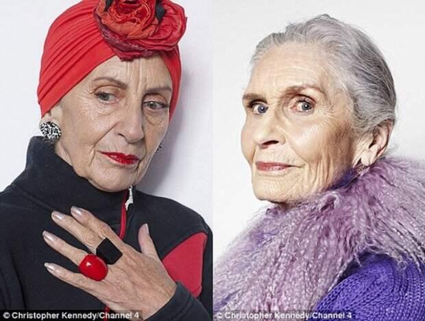 75-летние модели и самые крутые модницы-пенсионерки
