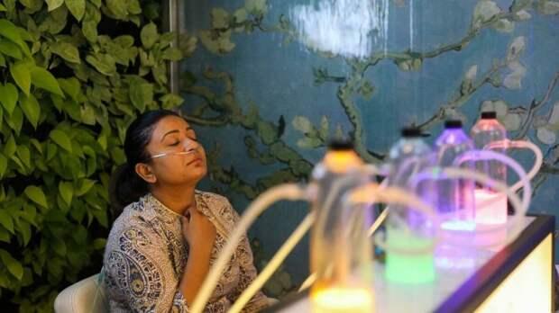 В Индии продают чистый воздух за деньги