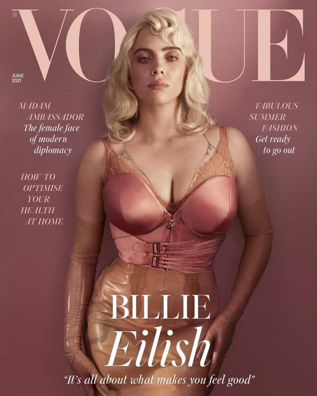 Почему обложка с Билли Айлиш побила все рекорды?