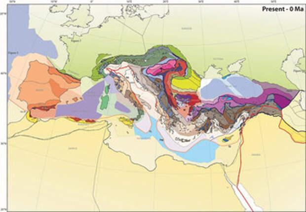 100 миллионов лет назад к Европе приплыла земля и утонула