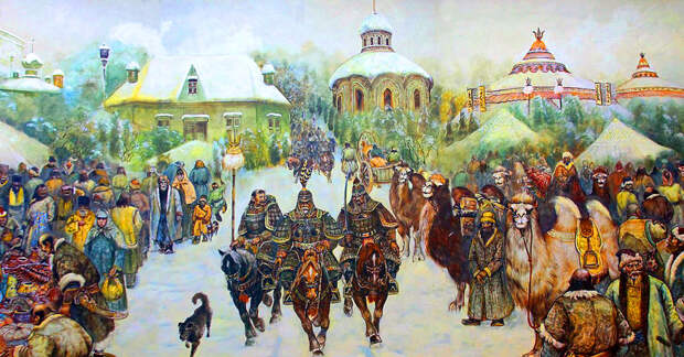 Хан Узбек и русские княжества