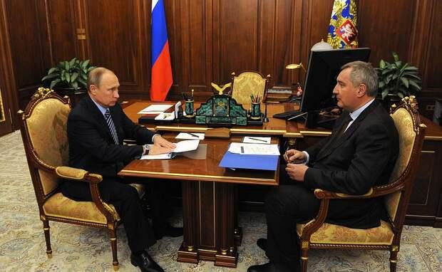 СЗаместителем Председателя Правительства Дмитрием Рогозиным.