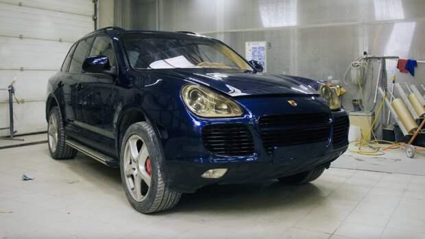 Porsche Cayenne. Полное восстановление.