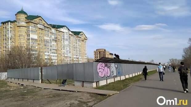 Без разрешения. Омские журналисты заявили о незаконном начале строительства гостиницы Cosmos