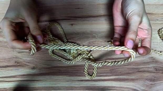 Не выбрасывайте остатки верёвки