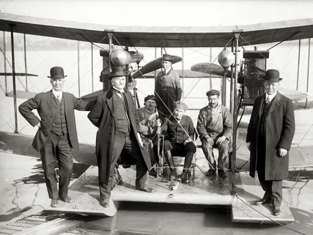 Самолеты и пилоты начала 20-го века на снимках американских фотографов (9)