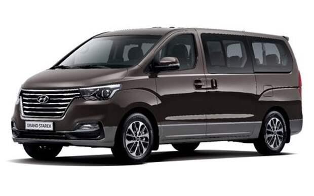 Офранцузился: представлен обновленный микроавтобус Hyundai H-1
