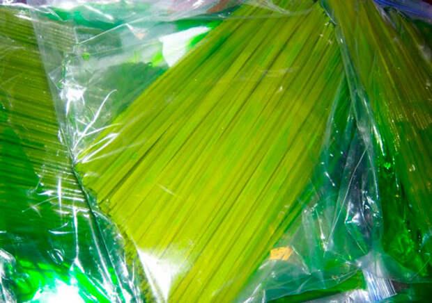 Покраска спагетти