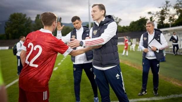 Молодежная сборная России сыграла вничью с Сербией в товарищеском матче