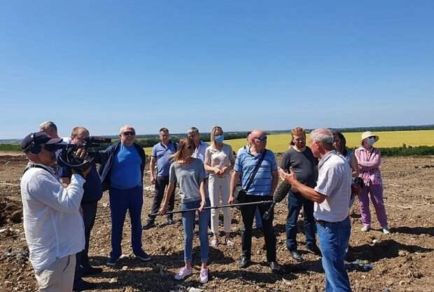 Белореченский полигон ТКО посетила инспекция экологов