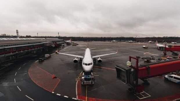 Airbus А-321 с неисправным шасси успешно сел в Шереметьеве