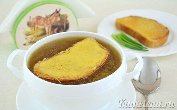 Луковый суп по-французски — 11 шаг