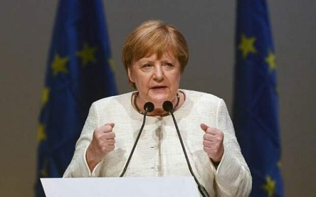 Газа «пришла» вБерлин: Германия непотерпит антисемитизма— Меркель