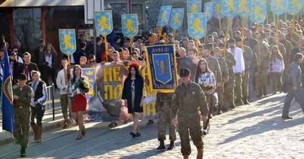 Марш в честь дивизии СС Галичина