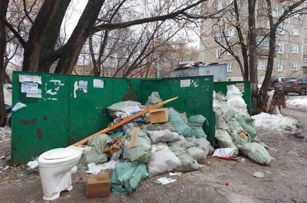 В Петропавловске мусор будут собирать в евроконтейнеры