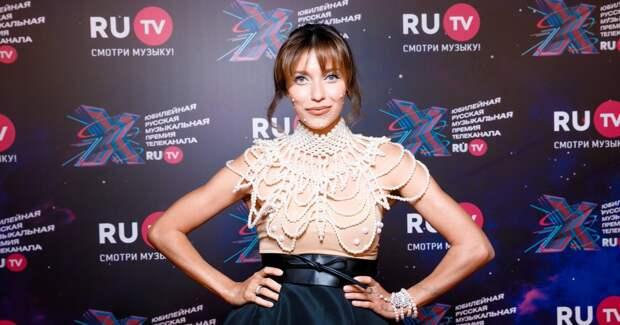 Семенович, Рудковская, Брежнева: звезды на премии канала RU.TV