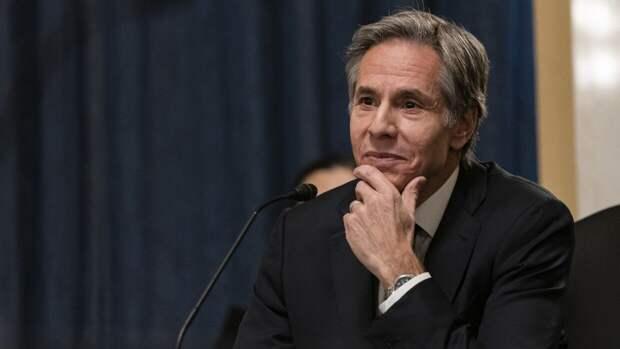 Блинкен заявил, что вера в приверженность США порядку подорвана