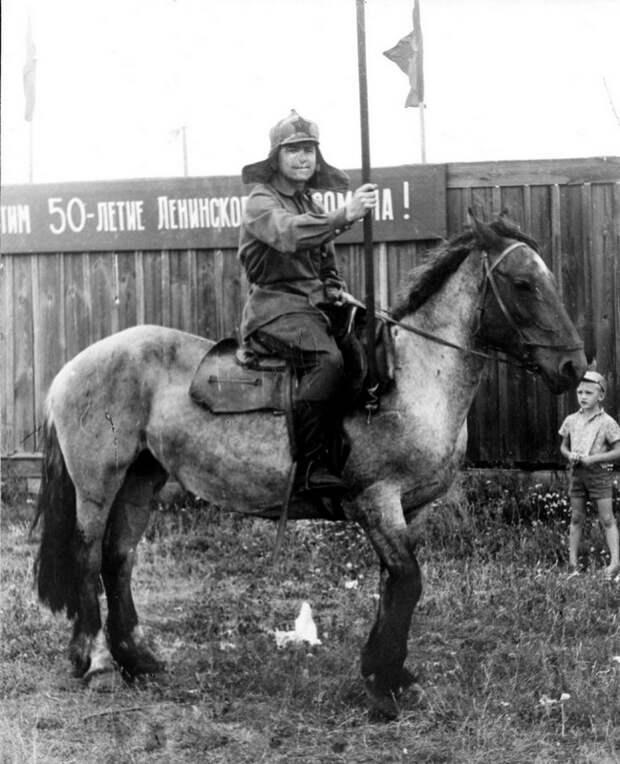Горели конные дворы